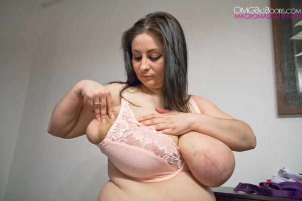 Big tits breast expansion