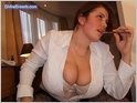 Alicia Loren Big Boobs Secretary 1