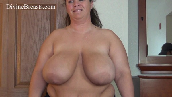 Huge Titted Plumper Jumps On His