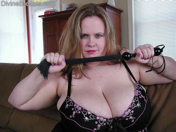 Big tits dominatrix