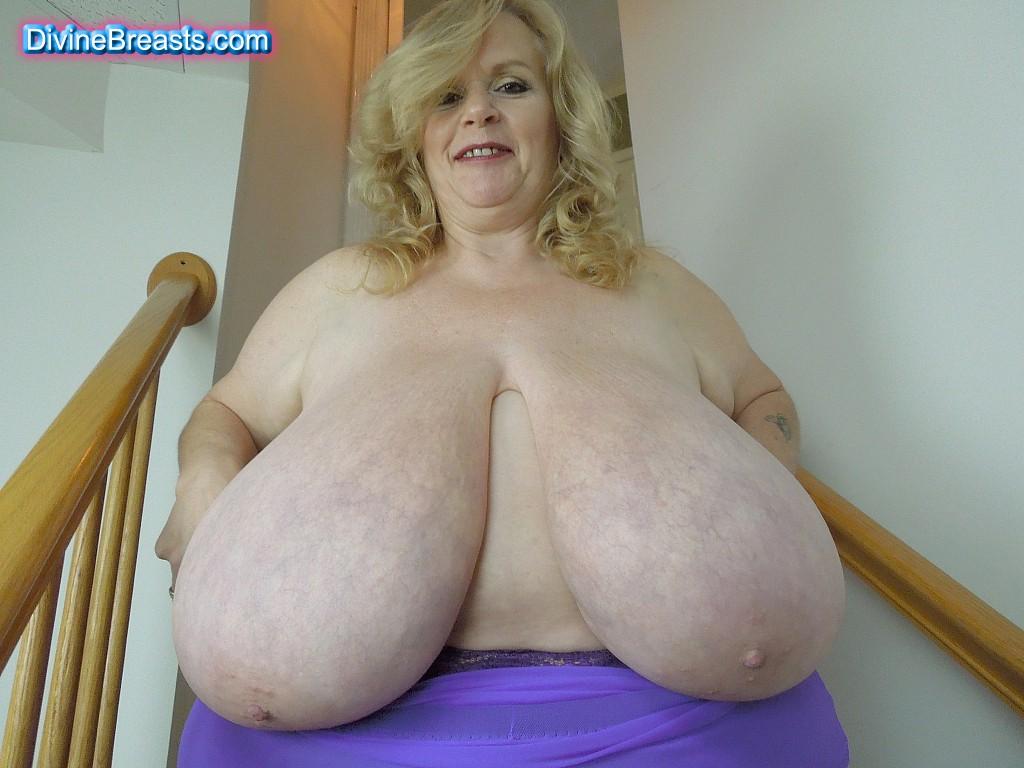 Divine boobs com
