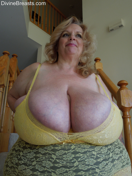 Busty milf with huge tits rides cock 6