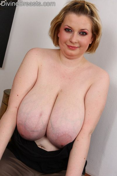 Milf with huge breasts