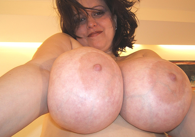 Mature milf with big boobs
